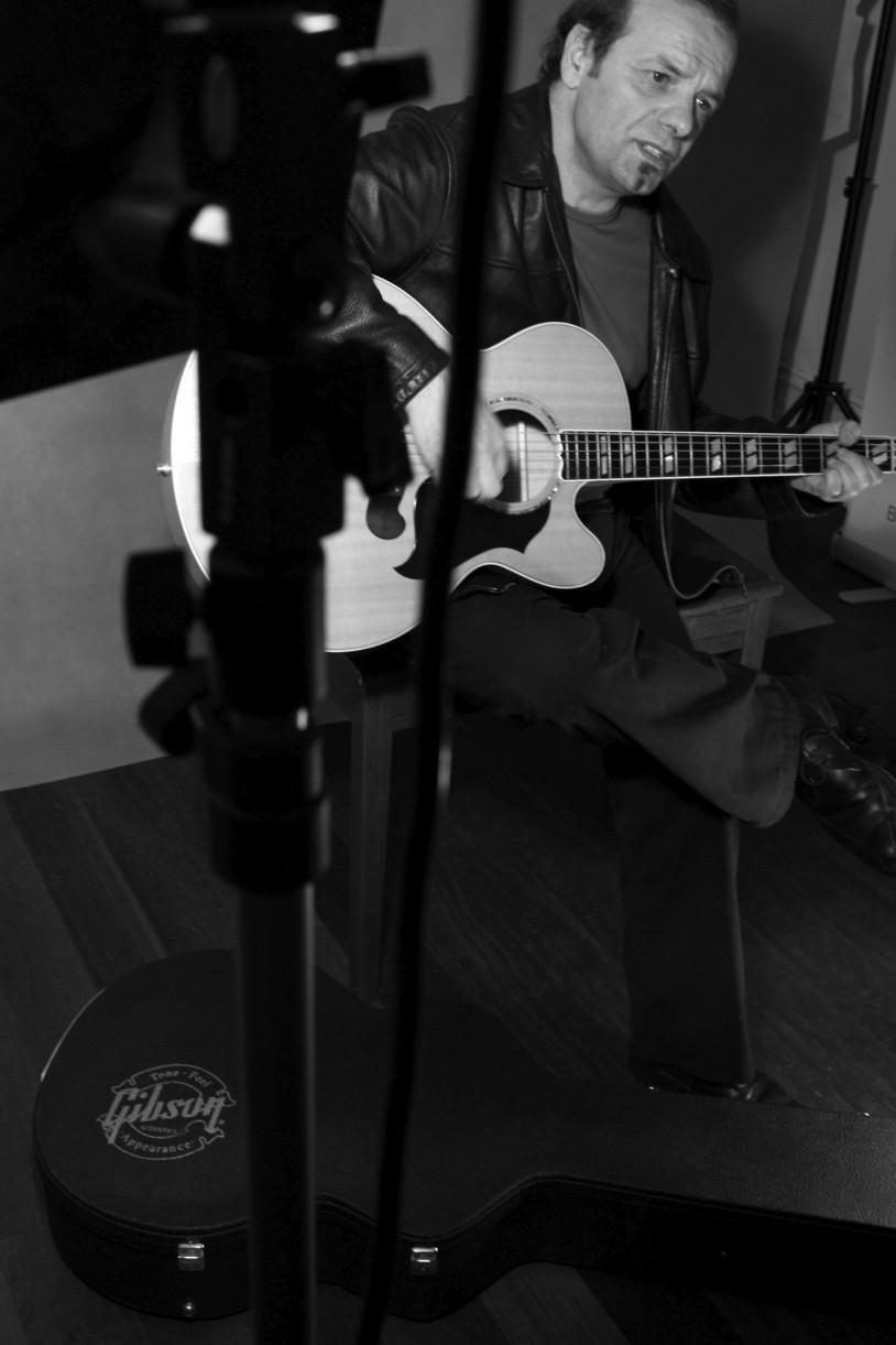 Studio live playing
